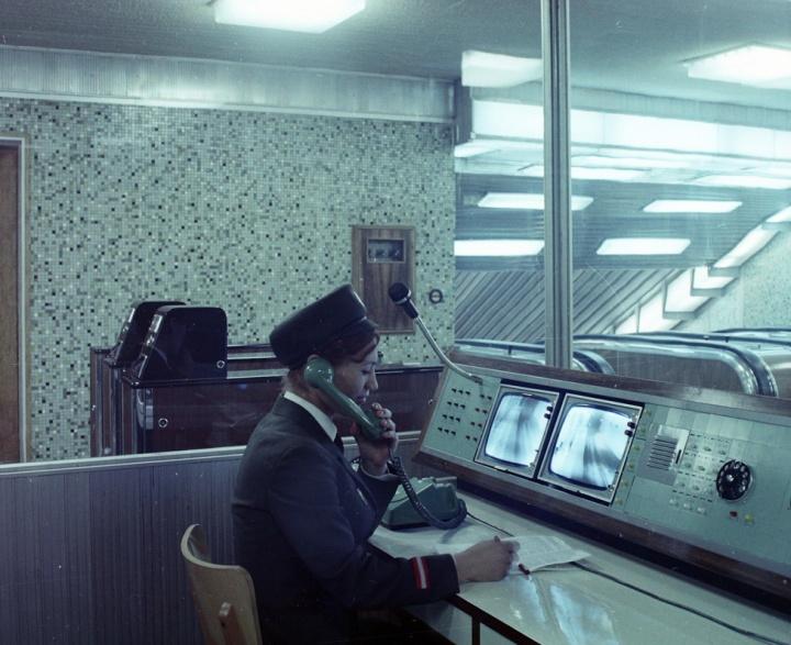 70s Blaha metró uniform